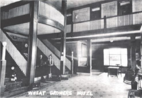Historic Wheat Growers Hotel 102 South Oak Street Kimball Nebraska 69145